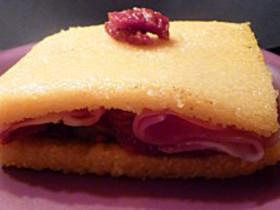 Recette sandwich italien la polenta cuisine facile - Comment cuire la polenta ...