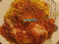 Recette cuisses de poulets à la tomate et au miel