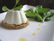 Recette panna cotta de brebis aux olives vertes