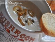 Recette velouté ou crème de champignons