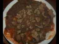 Recette crumble de sarrasin au thon et curry de légumes