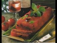 Recette pressé d'aubergines et tomates confites