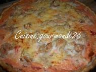 Recette tarte à la tomate et au thon