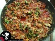 Recette sauce pour pâtes aux légumes