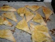 Recette samossas poireaux mozzarella