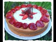 Recette génoise aux fraises