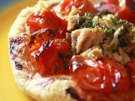 Recette tartelettes fines au thon et aux tomates cerises