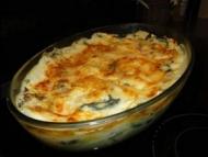 Recette lasagne poulet et épinard