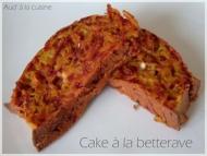 Recette cake à la betterave et au chèvre