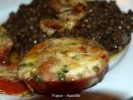 Recette tomates mozzarella gratinees