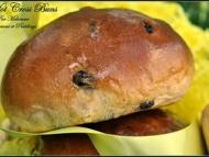 Recette hot cross buns ou brioches anglaises de pâques