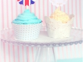 dessert : cupcakes royal wedding (mariage)
