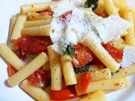 Recette pasta super rapide aux tomates cerises