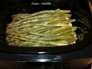 Recette asperges vertes à la mijoteuse