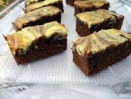 Recette cheesecake brownies