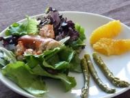 Recette salade de homard aux asperges