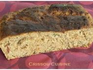 Recette pain aux herbes fraîches et aux tomates séchées