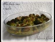 Recette flan de brocolis et de truite fumée au roquefort