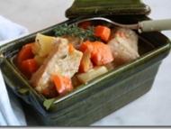 Recette ragoût de filet de porc aux carottes et pommes de terre