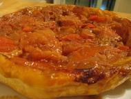 Recette tarte tatin aux tomates et vinaigre balsamique