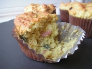 Recette muffins lardons gruyère
