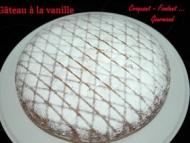 Recette gâteau à la vanille