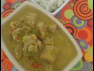 Recette curry de porc