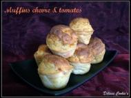 Recette muffins chèvre et tomates