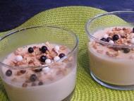 Recette panna cotta au lait de coco et au caramel