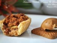 Recette tartelettes crumble pommes, speculoos et pâte de speculoos