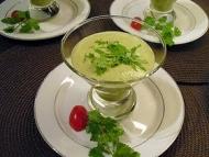Recette velouté de courgettes au curry