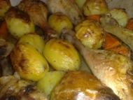 Recette cuisses de poulet roti