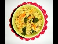Recette upama (semoule de blé aux légumes)
