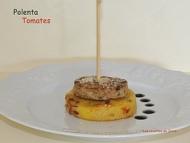 Recette palets de porc sur polenta aux tomates séchées