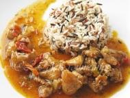 Recette dinde à la sauce chinoise au riz basmati