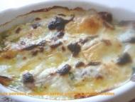 Recette gratinette de poireaux au jambon béchamel saveur persil