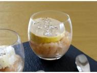 Recette verrine de foie gras et sa marmelade de poires