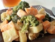 Recette poêlée de légumes d'hiver au cidre