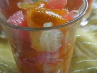 Recette salade aux 4 agrumes