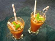 Recette smoothies fraises bananes