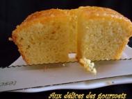 Recette cake au citron et confiture d'abricot