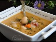 Recette soupe de cocos blancs de paimpol aux tomates