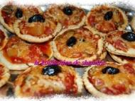 Recette mini-pizzas apéritifs