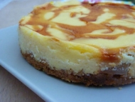 Recette cheesecake poire-caramel