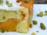 Recette clafoutis aux abricots rotis et pistache