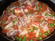 Recette riz aux fruits de mer façon paella