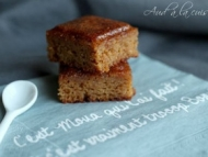Recette moelleux aux noisettes & caramel au beurre salé