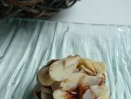 Recette truffes à la pralinoise aux amandes effilées