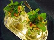 Recette salade avocats saumon menthe
