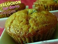 Recette muffins au reblochon, lardons et châtaignes